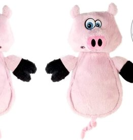Worldwise/QPG/GoDog GoDog Hear Doggy Pig Dog Toy Mini