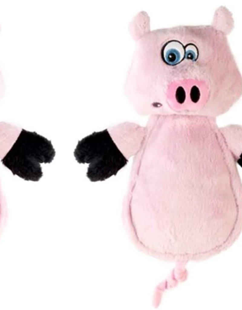 Worldwise/QPG/GoDog GoDog Hear Doggy Pig Dog Toy Mini