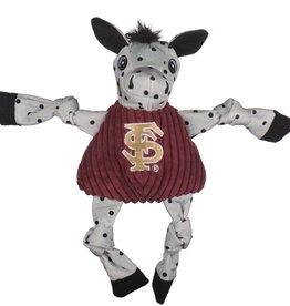 Hugglehounds HH Knotties Collegiate FSU Toy Dog Sm