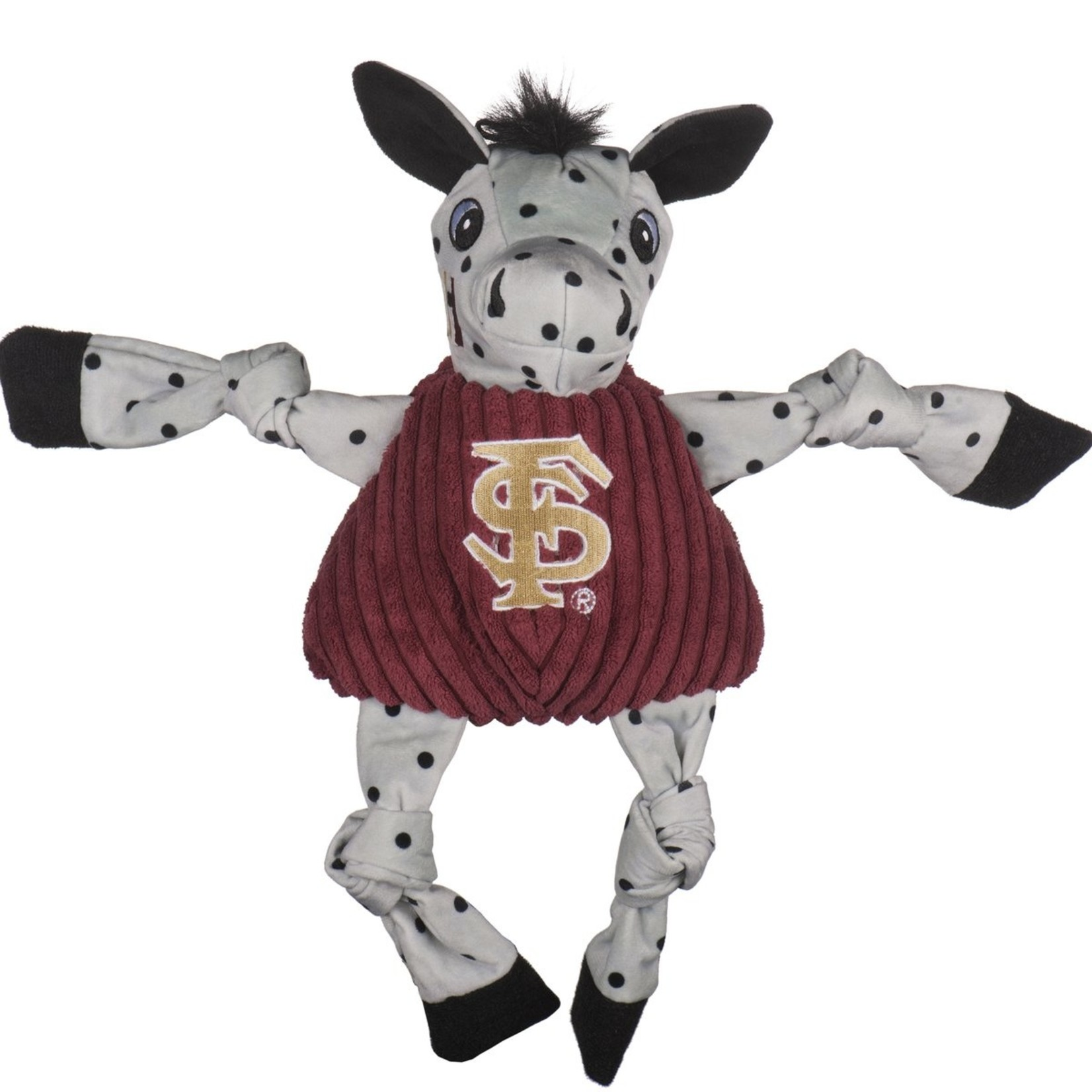 Hugglehounds HH Knotties Collegiate FSU Toy Dog Lg