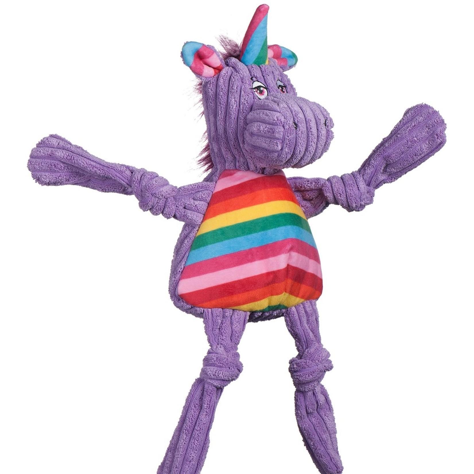 Hugglehounds HH Rainbow Knotties Unicorn Sm