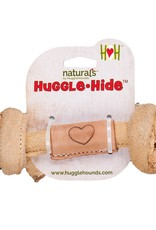 Hugglehounds HH Leather Knotted Bone Sm 4""