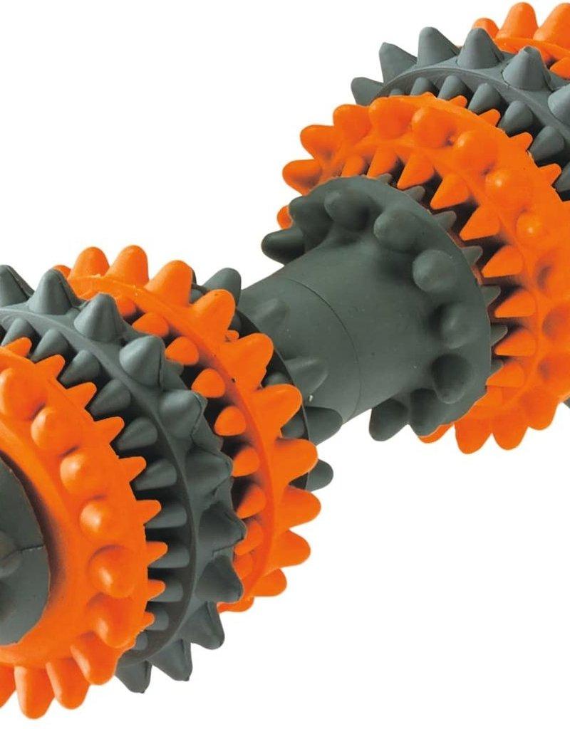 Hunter Hunter International Tooth Cleaner Dog Toy Orange/Grey Size Large