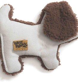 West Paw WESTPAW Big Sky Puppy Toy Blue Dog