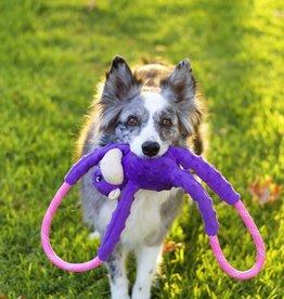Zippy Paws ZIPPYPAWS Monkey RopeTugz Purple Toy Dog