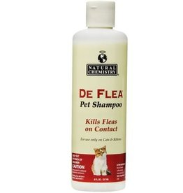 Natural Chemistry NATCHEM Flea & Tick Shampoo 16.9oz Cat