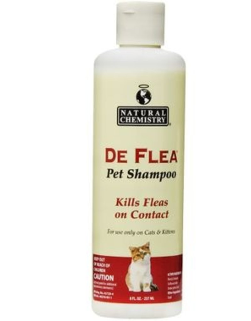 Natural Chemistry NATCHEM Flea & Tick Shampoo 16.9oz Cat
