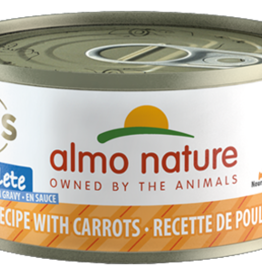 Almo Nature ALMO NATURE Chicken with Carrots Canned Cat Food 2.47oz
