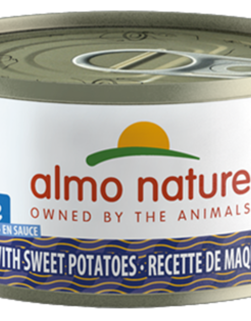 Almo Nature ALMO NATURE Mackerel and Sweet Potato Canned Cat Food 2.47oz