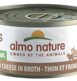 Almo Nature ALMO NATURE Tuna and Cheese in Broth Canned Cat Food 2.47oz