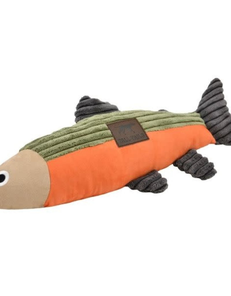 """Tall Tails TALL TAILS Squeaker Fish 12"""" Dog Toy"""
