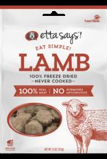 Etta Says Etta Says! Eat Simple Freeze-Dried Lamb Dog Treats 2.5oz