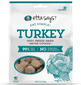Etta Says Etta Says! Eat Simple Freeze-Dried Turkey Dog Treats 2.5oz