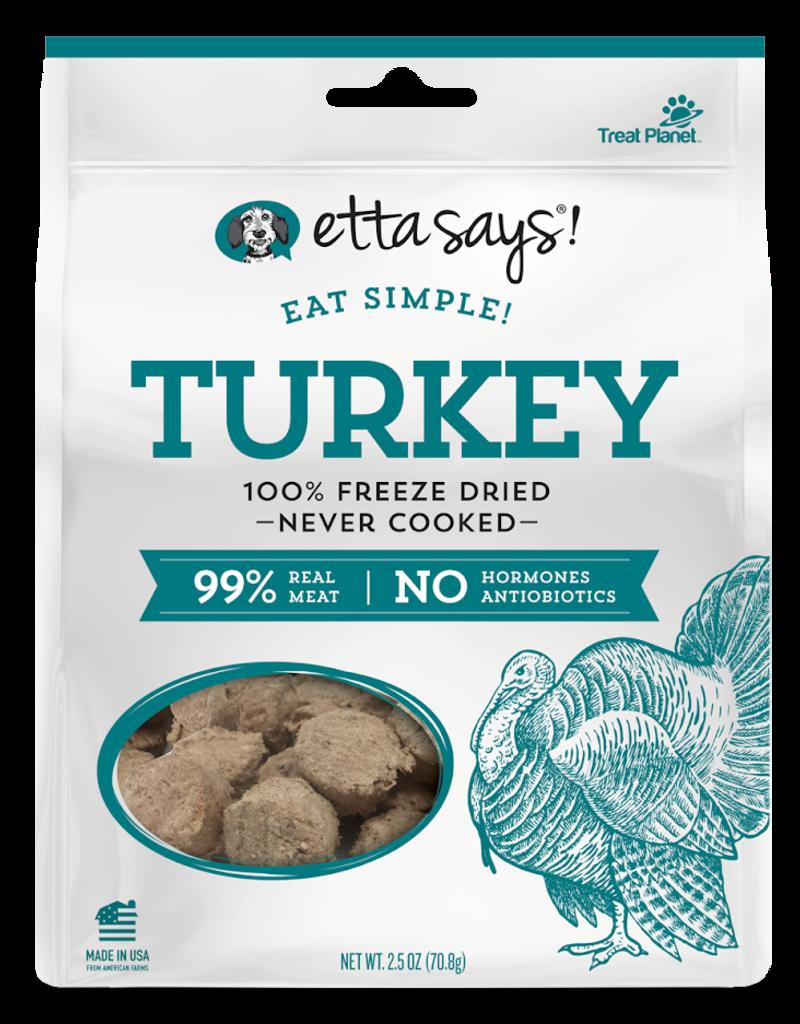 Etta Says Etta Says! Eat Simple Freeze-Dried Turkey Dog Treats 2.5oz