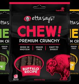 Etta Says Etta Says! Premium Crunchy Buffalo Dog Chews 4.5oz