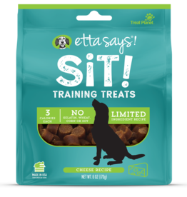 Etta Says Etta Says! Sit Cheese Dog Training Treats 6oz