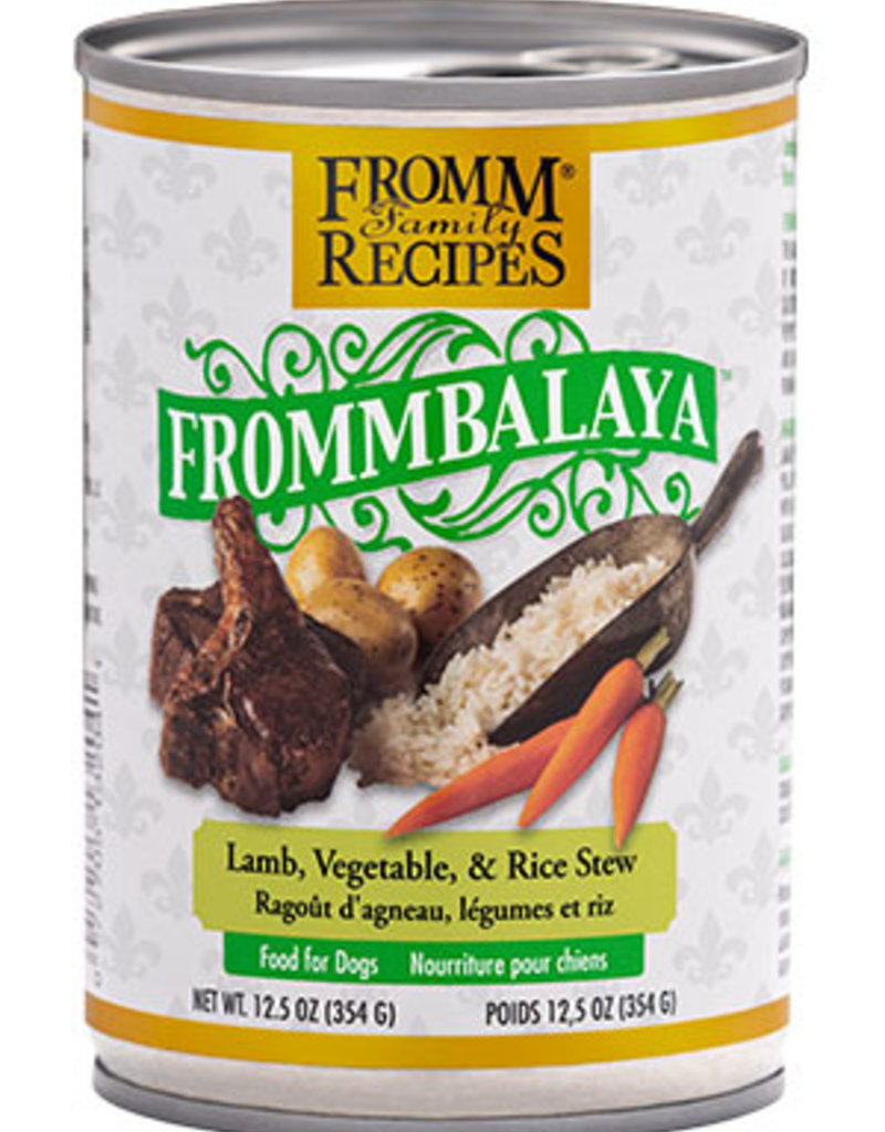 Fromm Family Fromm Frommbalaya Lamb, Vegetable, & Rice Stew Dog Food Can 12.5 oz