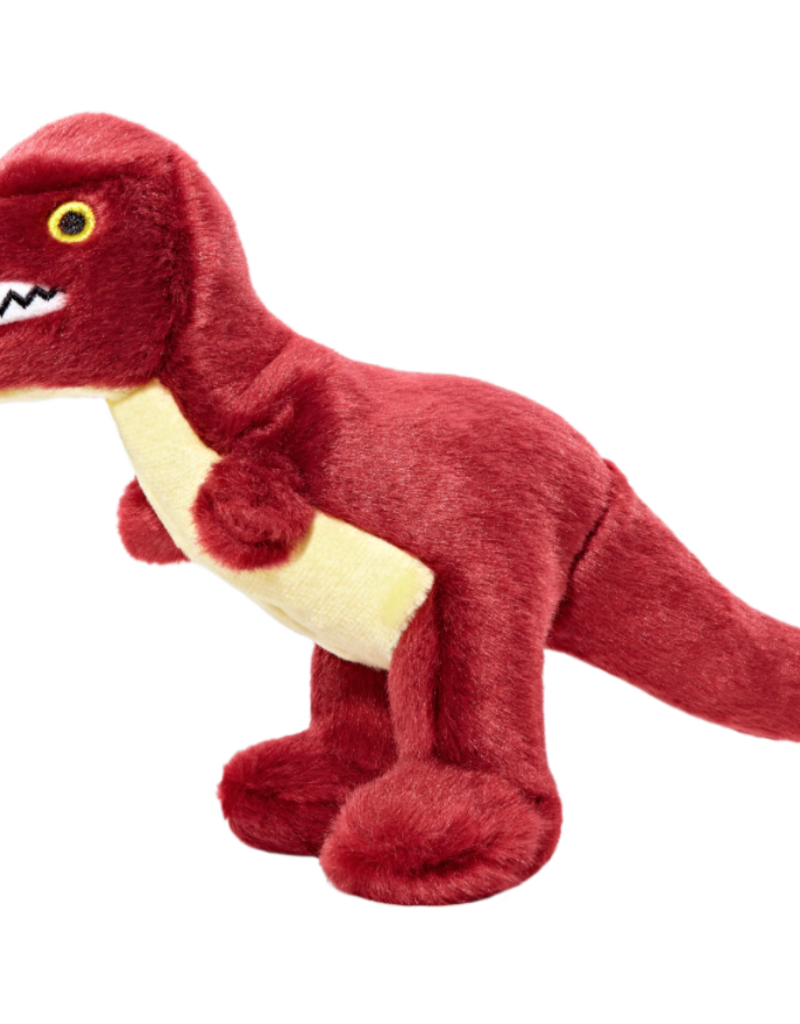 Fluff & Tuff Fluff & Tuff Tiny T-Rex Dog Plush Toy 8""