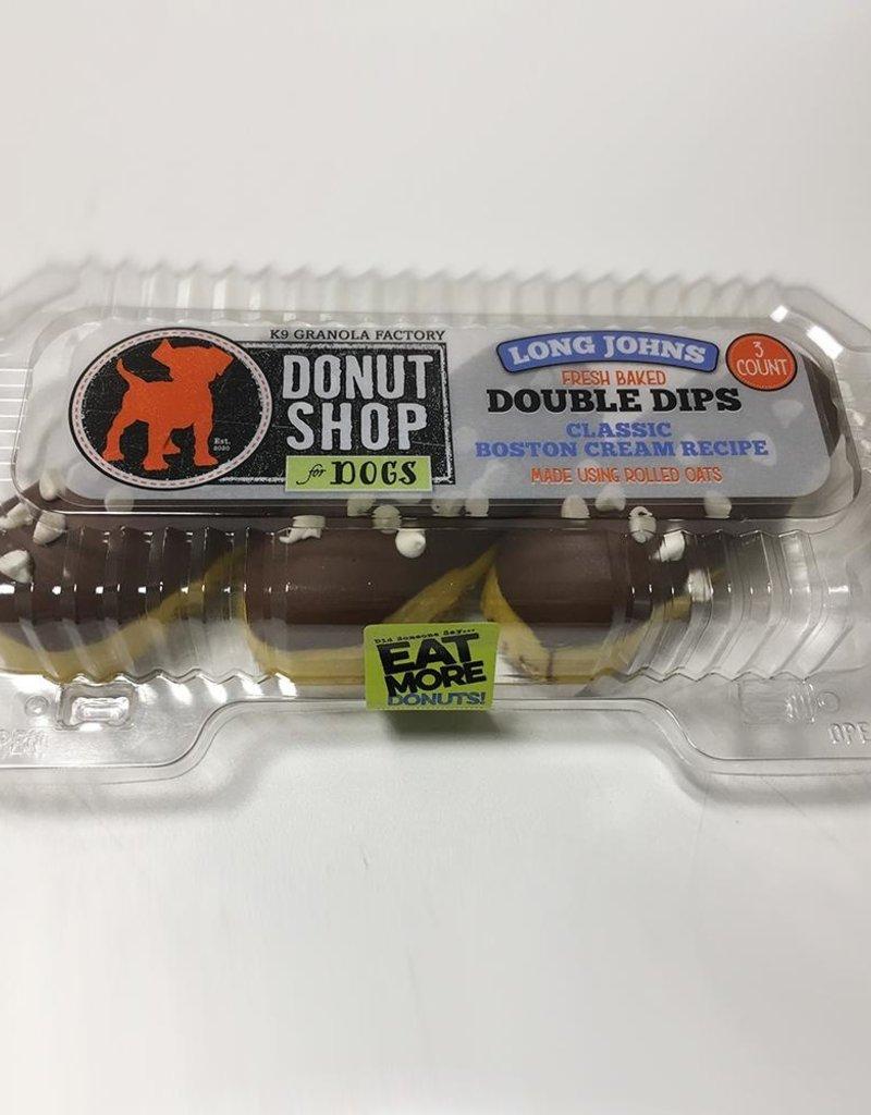 K9 Granola Factory K9 Granola Factory Baked Long Johns Boston Cream 3ct Dog Treat
