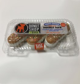 K9 Granola Factory K9 Granola Factory Baked Long Johns Peanut Butter & Sprinkles 3ct Dog Treat