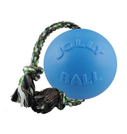 "Jolly Pets JOLLY Romp N Roll Dog Blue 4.5"""