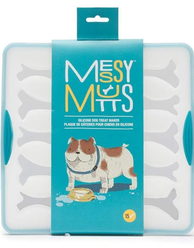 Messy Mutts MESSY MUTTS Bake & Freeze Silicone Bones Sm