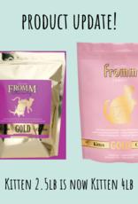 Fromm Family Fromm Gold Kitten 4lb Cat Food