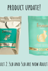 Fromm Family Fromm Gold Adult 4lb Cat Food