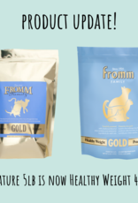 Fromm Family Fromm Gold Healthy Weight Cat Food 4lb