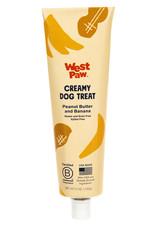 West Paw WESTPAW Peanut Butter & Banana Creamy Dog Treat 5oz