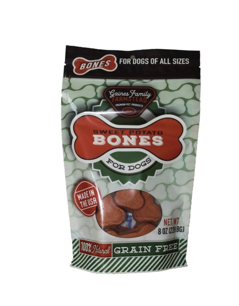 Gaines Family Gaines Family Sweet Potato Bones Dog Treat 8oz