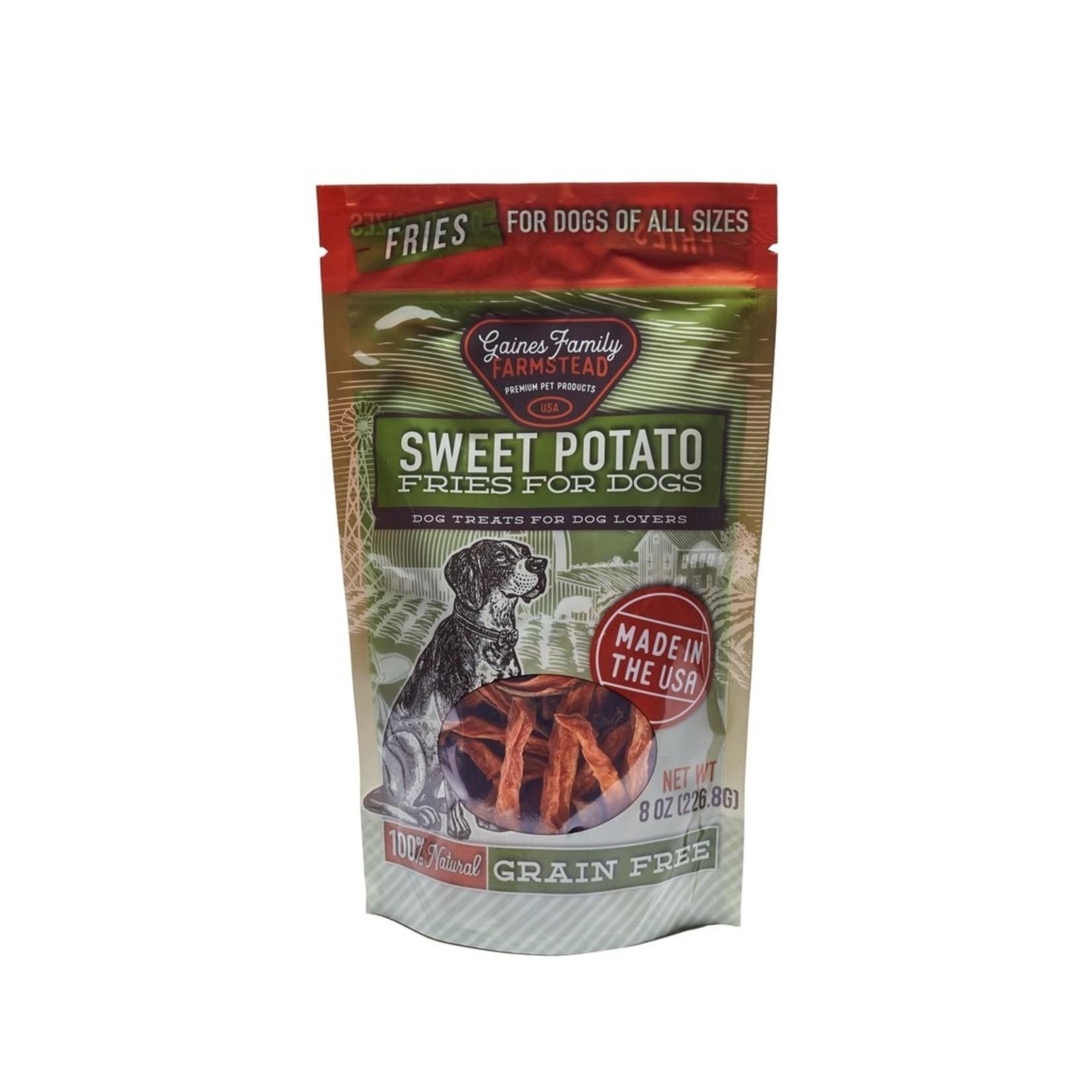 Gaines Family Gaines Family Sweet Potato Fries Dog Treats 8oz