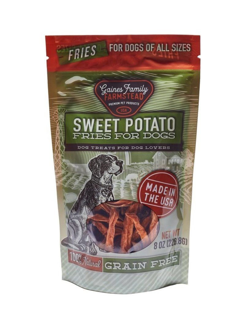 Gaines Family Gaines Family Sweet Potato Fries Dog Treats 8oz