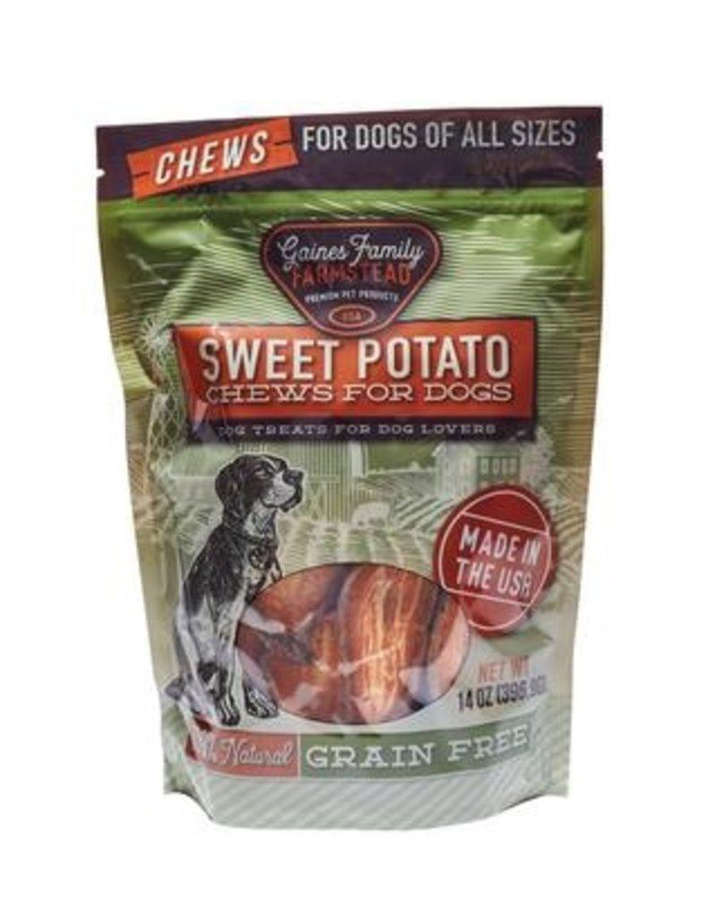Gaines Family Gaines Family Sweet Potato Dog Chews 14oz