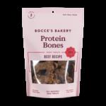 Bocce's Bocce's Protein Bones Beef Dog Treat 5oz