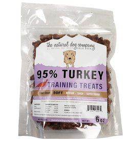 The Natural Dog Company The Natural Dog Company 95% Turkey Bites Training Dog Treats 6oz