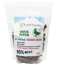 The Natural Dog Company The Natural Dog Company 95% Duck Bites Training Dog Treats  6oz