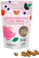 West Paw WESTPAW Freeze Dried Pork Superfood Dog Treats 2.5oz