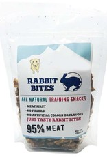 The Natural Dog Company The Natural Dog Company 95% Rabbit Bites Training Dog Treats 6oz
