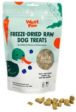 West Paw WESTPAW Freeze Dried Duck Superfood Dog Treats 2.5 oz