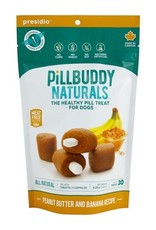 Complete Natural Nutrition Complete Natural Nutrition Pill Buddy Naturals Peanut Butter & Banana Dog Treat 30pk