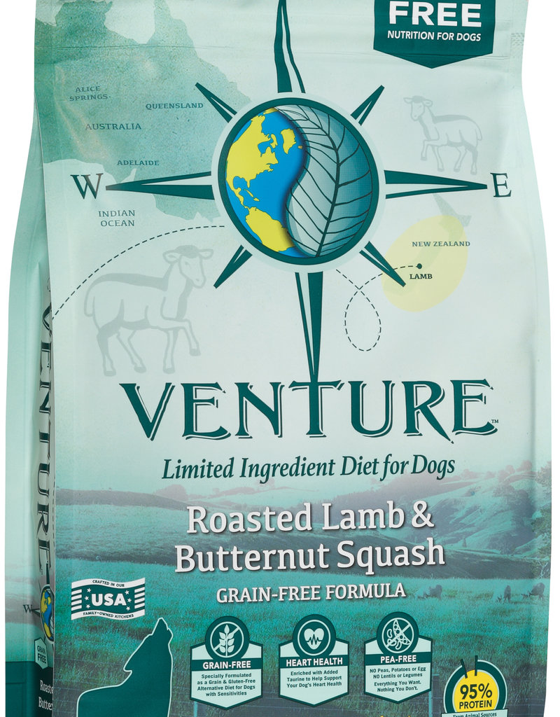 Venture Earthborn Venture GF Lamb Squash Dog Food