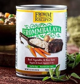 Fromm Family Fromm Frommbalaya Beef, Vegetable, & Rice Stew Dog Food Can 12.5oz