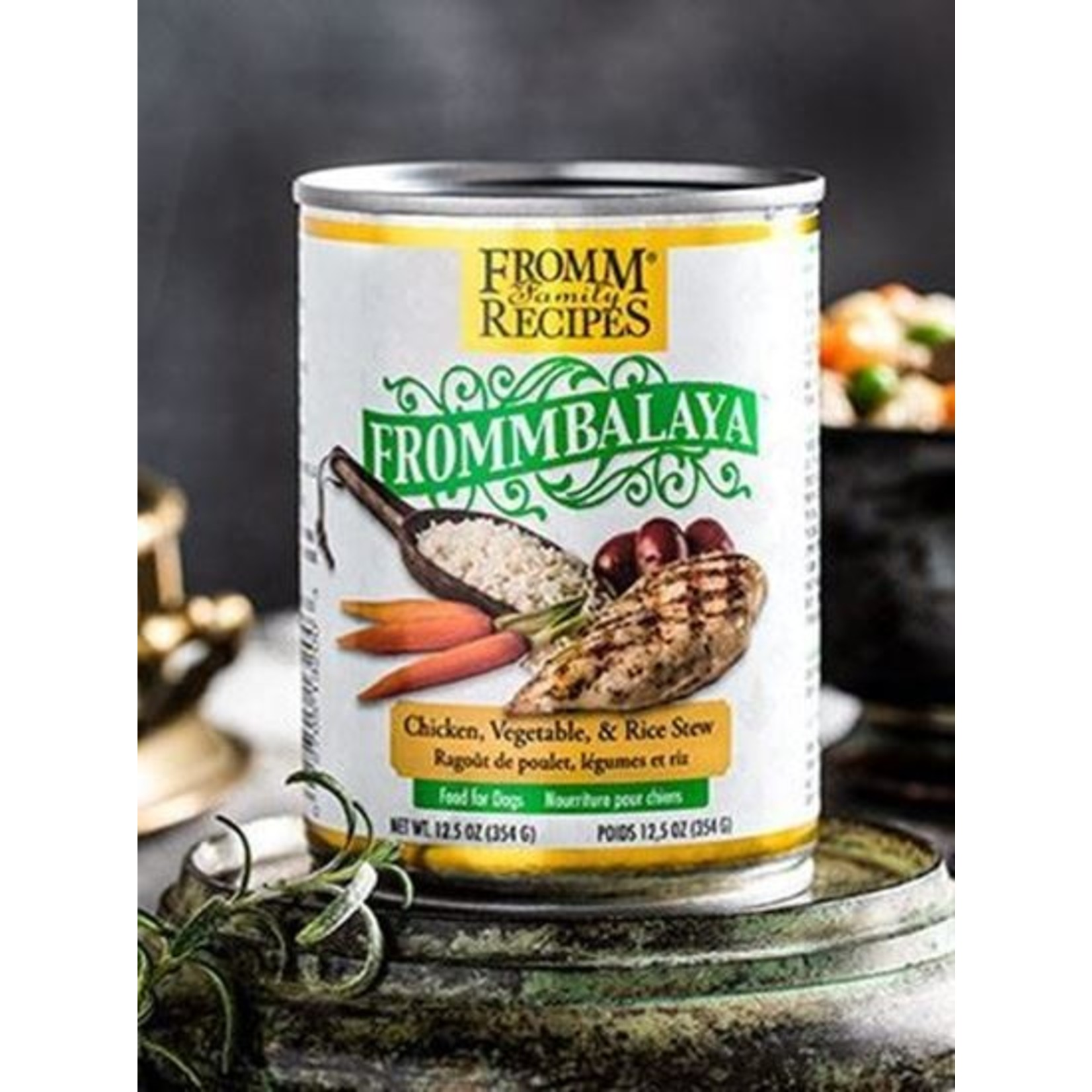 Fromm Family Fromm Frommbalaya Chicken, Vegetable, & Rice Stew Dog Food Can 12.5oz