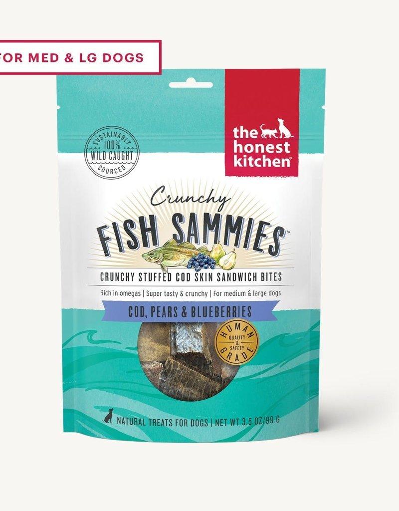 Honest Kitchen The Honest Kitchen Fish Sammies Cod, Pear, & Blueberry Dog Treats 3.5oz