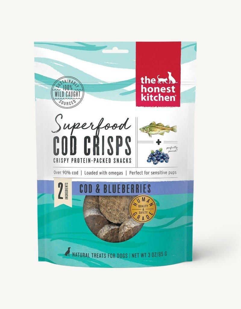Honest Kitchen The Honest Kitchen Cod Crisps Cod & Blueberries Dog Treats 3oz