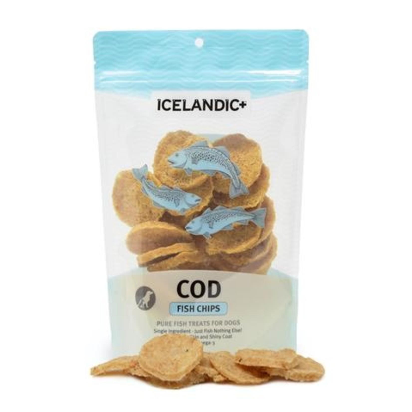 Icelandic Plus Icelandic Plus Cod Chips Dog Treats 2.5oz