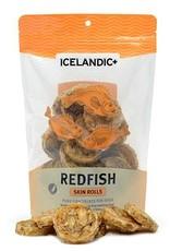 Icelandic Plus Icelandic Plus Red Fish Skin Rolls Dog Treats 3oz