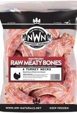 Northwest Naturals Northwest Naturals Frozen Raw Bones Turkey Necks 4ct