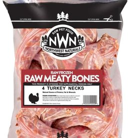 Northwest Naturals Northwest Naturals Frozen Raw Bones Turkey Necks 4ct